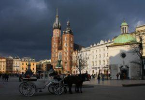 Mariakyrkan - Kraków – säte för kungar