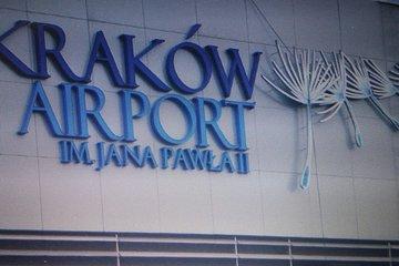 Transfer från flygplatsen i Krakow